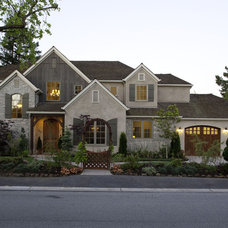Traditional Exterior by Todd Turley Construction