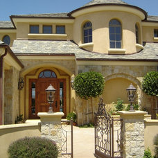 Mediterranean Exterior by Window Visions