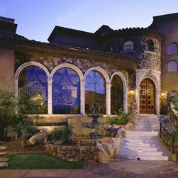 Custom Homes - Windsor Aluminum Clad Windows