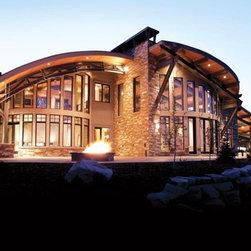 Custom Homes - Windsor Aluminum Clad Exterior