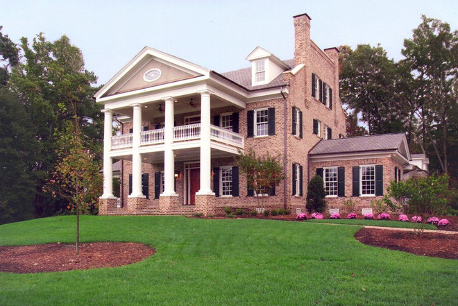 Traditional Exterior by Houghland Architecture, Inc.