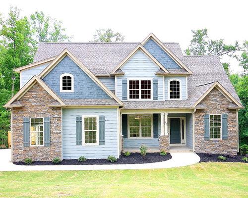Foto e idee per arredare casa american style altro for Piani di casa in stile cottage cape cod
