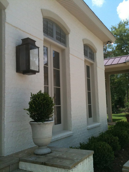Traditional Exterior by Period Millworks The Woodwright Shop