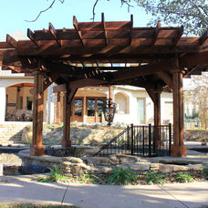 Eclectic Exterior by One Specialty Landscape Design, Pools & Hardscape