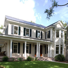 Traditional Exterior by Hansen Architects, P.C.
