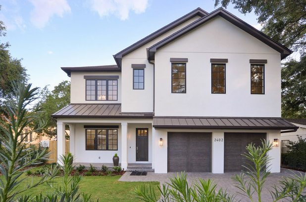 Transitional Exterior by Ramos Design Build Corporation