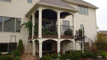 Custom Porch in Lakeville, MN