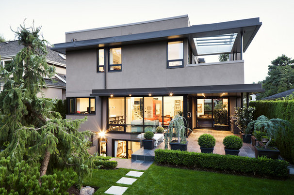 Contemporary Exterior by Natural Balance Home Builders