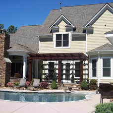 Traditional Exterior by Crowe Design & Associates