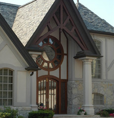 traditional exterior by Usztan, LLC