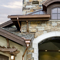 Traditional Exterior by Holy Cross Custom Builders, LLC