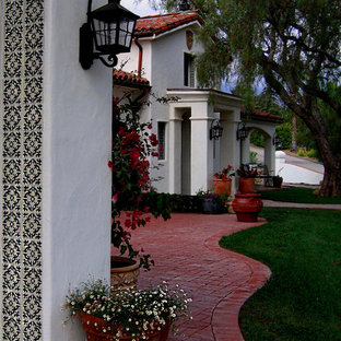 Custom Spanish Home in Santa Barbara California