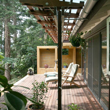 Contemporary Exterior by Masterson Studio