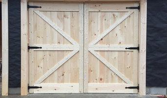 Custom wood doors