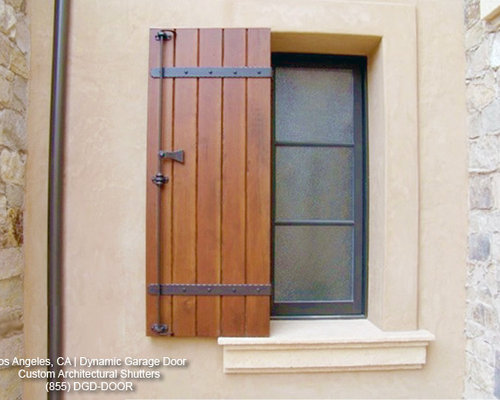 Houzz Tuscan Shutters Design Ideas Amp Remodel Pictures