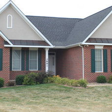 Traditional Exterior by Constable Construction inc