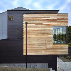 Modern Exterior by chadbourne + doss architects