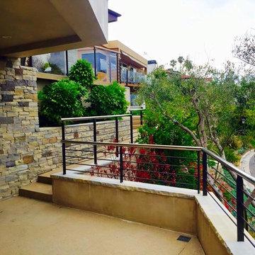 Cypress Shores Custom Home Railings