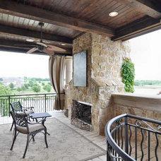 Tropical Exterior by Dallas Design Group