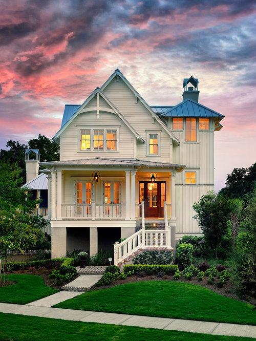 Victorian White Exterior Design Ideas Renovations Photos