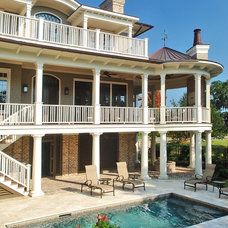 Traditional Exterior by Phillip W Smith General Contractor, Inc.