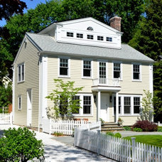 Traditional Exterior by Trillium Architects