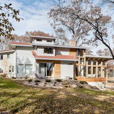 Contemporary Exterior Das Baum House