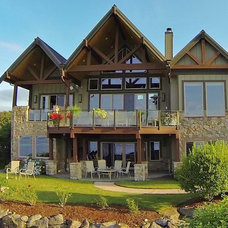 Craftsman Exterior by Choice Construction
