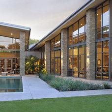 Modern Exterior by David Lewis Builder
