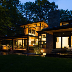 modern porch by David Small Designs