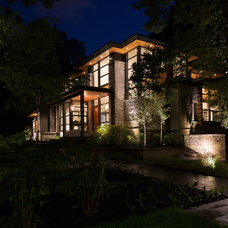 Modern Exterior by David Small Designs