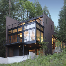 Modern Exterior by David Vandervort Architects