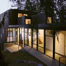 Modern Exterior by David Vandervort Architects