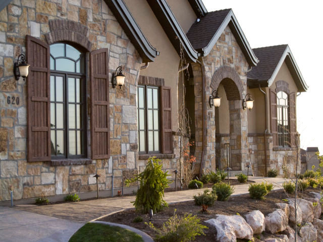 Traditional Exterior by Cameo Homes Inc.