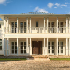 Traditional Exterior by Mackle Construction
