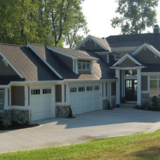 Craftsman Exterior by Star Homes by Delagrange & Richhart, Inc.