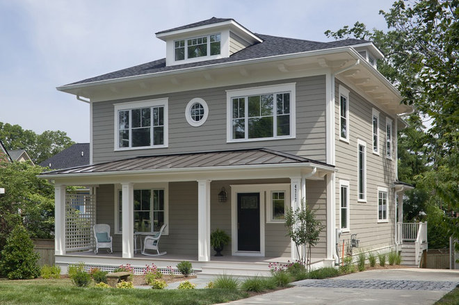 Craftsman Exterior by Peabody Architects