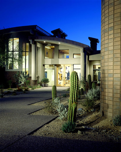 Modern Exterior by Fisher Custom Homes