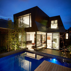 Contemporary Exterior by DDB Design Development & Building
