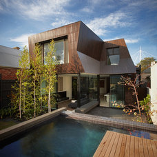 Contemporary Exterior by DDB Design Development & Building