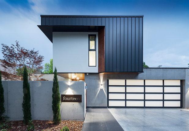 Minimalistisch Häuser by Thursday Architecture