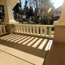 Traditional Porch by G. Christianson Construction Inc