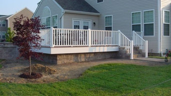 Deck and Hardscape combination