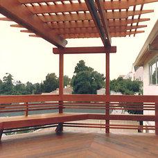 Contemporary Exterior by Golden Associates, Landscape Architects