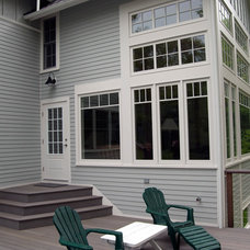Traditional Exterior by Long Cove Builders