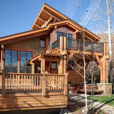 Traditional Exterior by Gerber Berend Design Build, Inc.