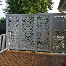 Backyard Privacy Panels