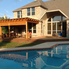 Traditional Exterior by Centex Decks and Outdoor Living
