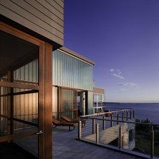 Modern Exterior by Elliott + Elliott Architecture