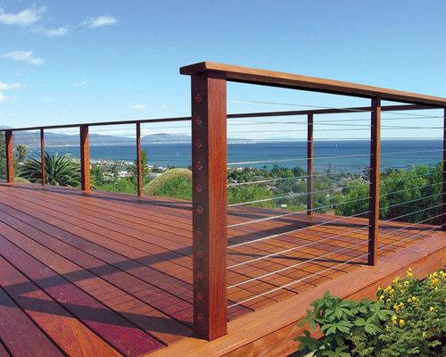 Best Modern Deck Rail Design Ideas & Remodel Pictures   Houzz
